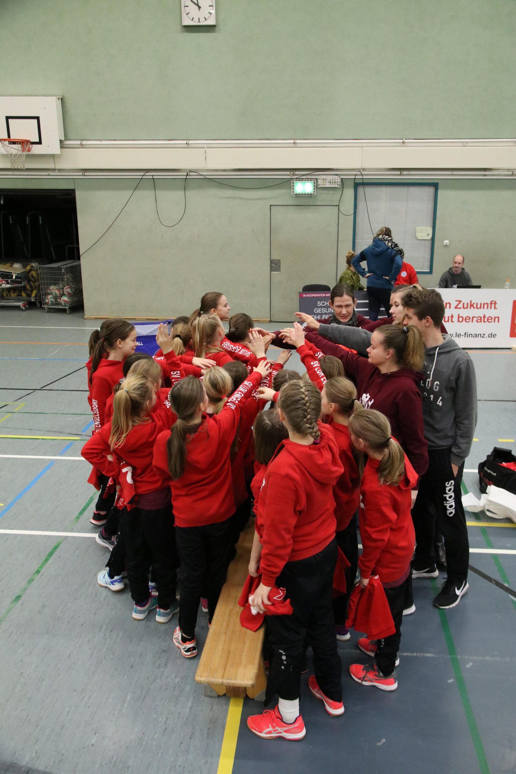 Bezirksmeisterschaft U12 – 2. Finalrunde – Engelsdorf mit sechs Mannschaften am Start