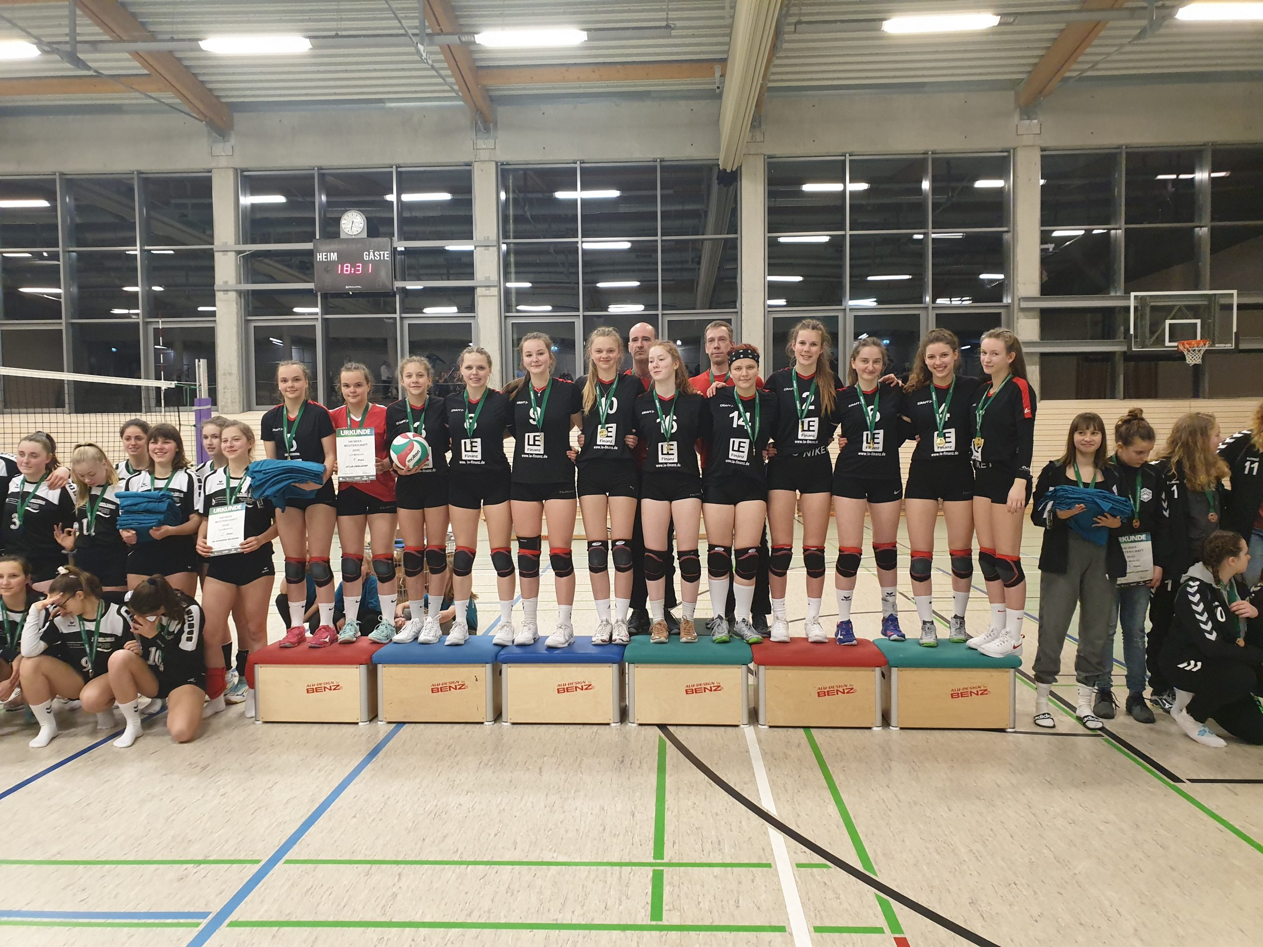 Wir sind Sachsenmeister U18 2019/20