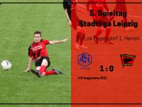 1. Herren – 5. Spieltag vs. SV Lindenau 1848