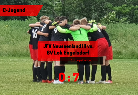 10. Leipziger Cup – C-Jugend vs. JFV Neuseenland lll