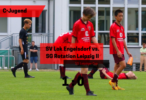 10. Leipziger Cup Finale – C-Jugend vs. SG Rotation Leipzig II