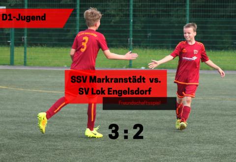 Freundschaftsspiel – D1-Jugend vs. SSV Markranstädt