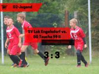D2 – 1. Spieltag vs. SG Taucha 99 II