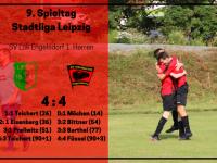 1. Herren – 9. Spieltag vs. SV Lipsia Eutritzsch