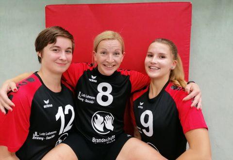 Frische Gesichter bei der ersten Damenmannschaft des SV Lok Engelsdorf