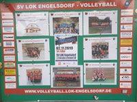 Schaukasten SV Lok Engelsdorf Volleyball