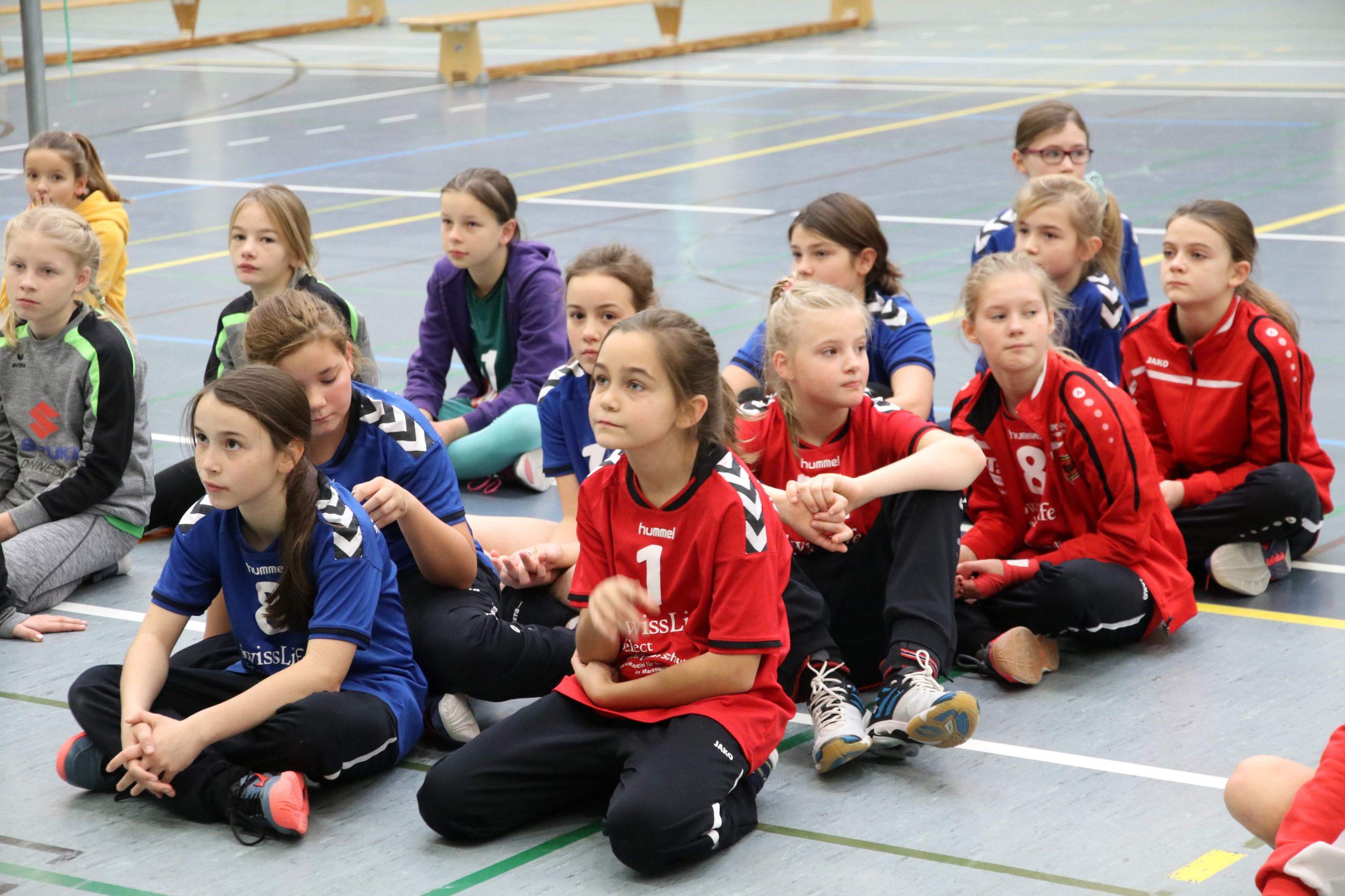 U13 zum Auftakt der Bezirksmeisterschaft in Engelsdorf mit zwei Teams am Start