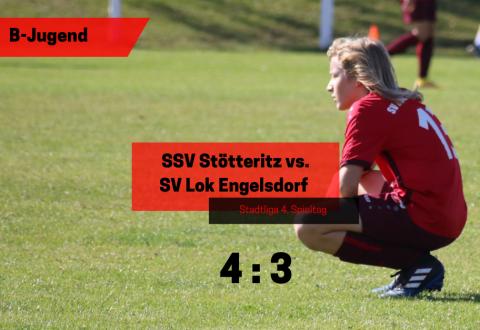 10. Leipziger Cup – B-Jugend vs. SSV Stötteritz