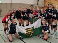 Engelsdorfer Nachwuchsvolleyballerinnen holen Bundespokal